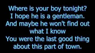 Fall Out Boy - Where is your boy tonight? (With lyrics)