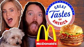 Download Irish People Try AMERICA State Burgers from McDonalds Mp3 and Videos