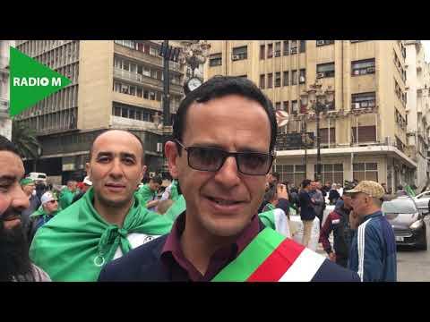 #Algérie #Hirak  9e Vendredi de protestation: Le maire des AGHRIBS rejoint le HIRAK