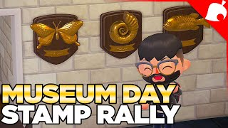 Museum Day Stamp Rally in Animal Crossing New Horizons