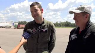 """Our president, don potter and jared """"rook"""" isaacman, ceo of shift4 payments, give a recap on their flight experience at draken international in lakeland, flo..."""