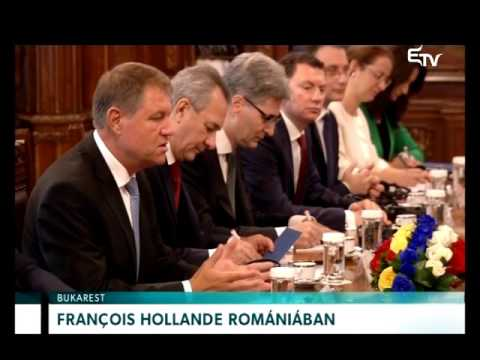 François Hollande Romániában – Erdélyi Magyar Televízió