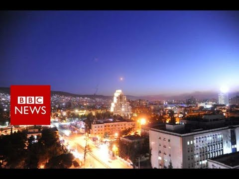 Syria air strikes: US and allies attack chemical weapons sites - BBC News