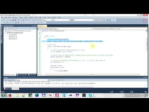 NinjaDirect and External Data Feed