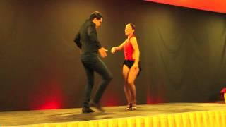 Joao and Mafalda at Sensual Dance Madrid 2012