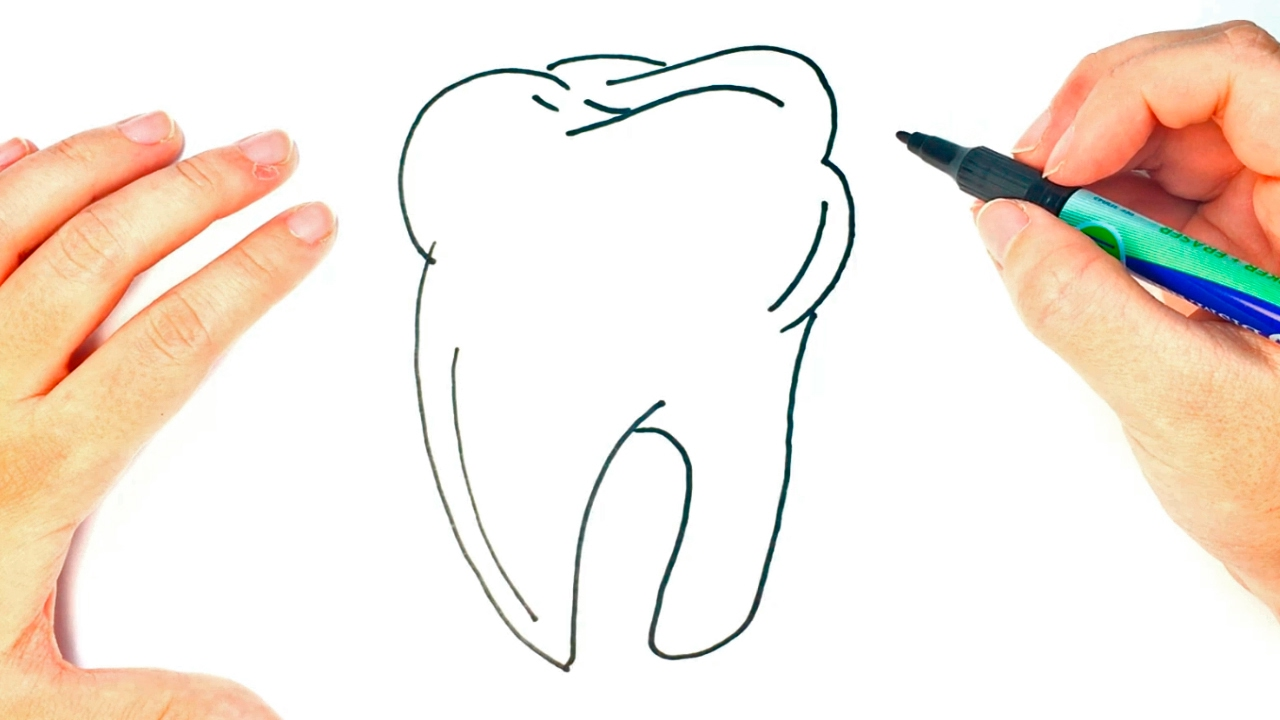 It's just an image of Dashing Drawing Of Teeth
