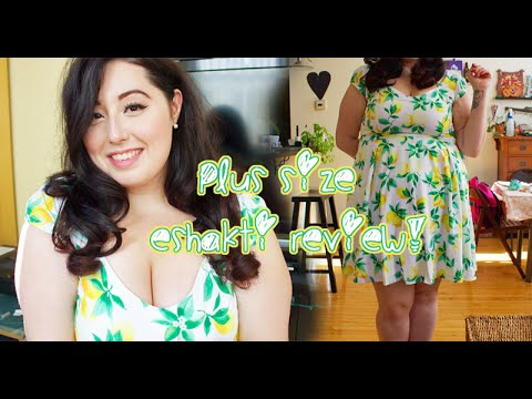 5da0a8c8764 Plus Size eShakti review   my turbulent history with them - YouTube