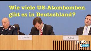 """""""Natürlich nicht öffentlich!"""" Neue Nichtantworten der Bundesregierung zu US-Atombomben in Deutschlan"""