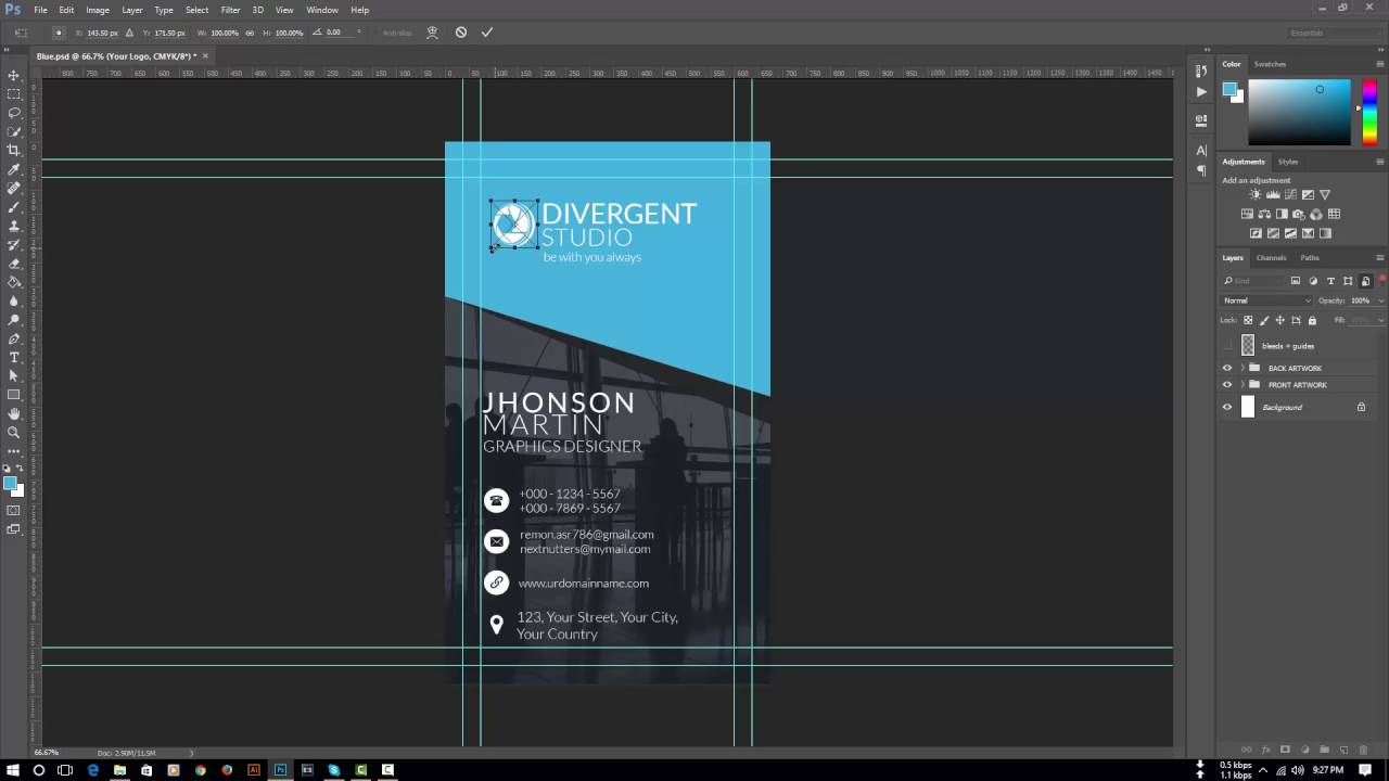 How to edit any business cards graphicriver photoshop tutorial how to edit any business cards graphicriver photoshop tutorial colourmoves