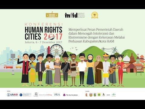 "Live Streaming infid Jakarta //KONFERENSI ""HUMAN RIGHTS CITIES 2017""//Jakarta, 7 Des. '17//Season 2"