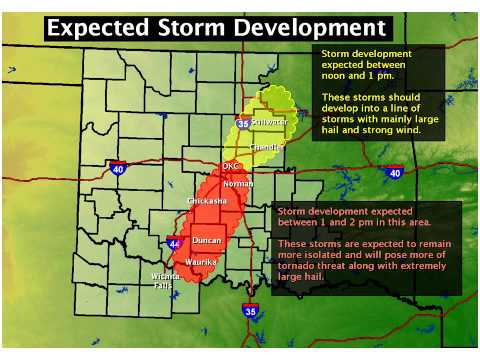 The National Weather Service's Last Pre-Tornado Briefing Warned About School Safety in Oklahoma City Region