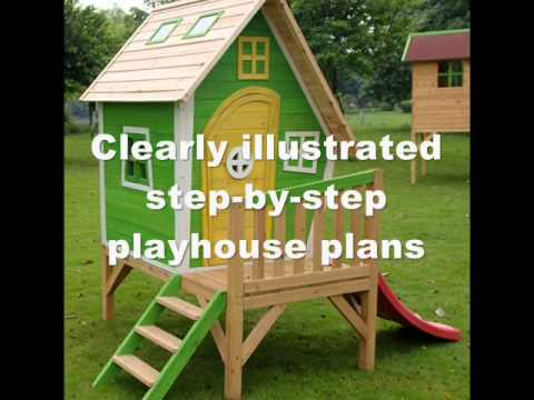 Beautiful How To Build A Kids Playhouse | Kids Playhouse Plans And Ideas