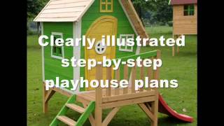 How To Build A Kids Playhouse | Kids Playhouse Plans And Ideas