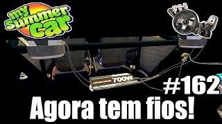 My Summer Car - FIZ TODA A PARTE ELÉTRICA DO CARRO! (Nova Atualização) #162 ‹ Getaway Driver ›