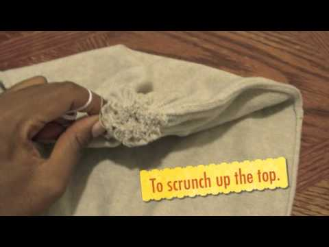 How to Make a Slouchy Beanie Hat from a Sweater - YouTube 9725989950c