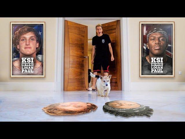 DOG PREDICTS KSI VS LOGAN PAUL FIGHT!
