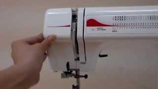видео Janome Швейная машинка 90E