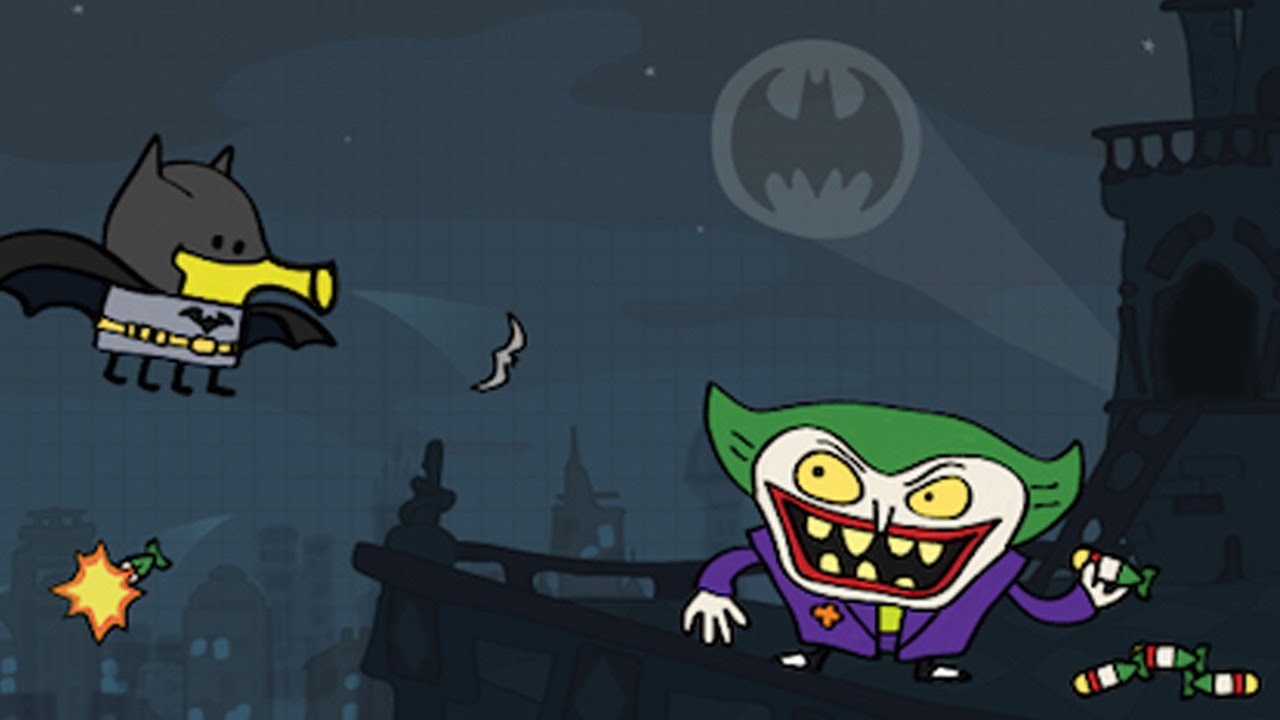 Doodle Jump Dc Batman Vs Joker Youtube