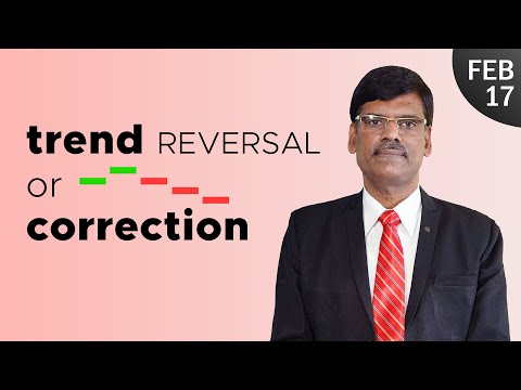 Is This Correction or Trend Reversal? Post Market Report 17-02-2021