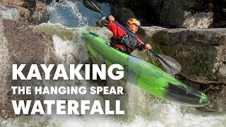 Kayaking the Hanging Spear Waterfall | Headwaters of Hudson River