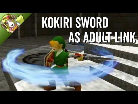 Kokiri Sword As Adult Link - ZFG Stream Highlights