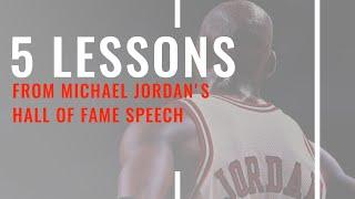 michael jordan hall of fame year