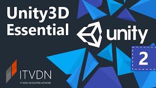 Unity3D Essential. Урок 2. Создание персонажа в Unity3D