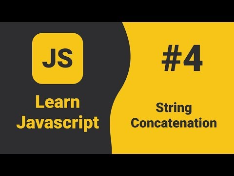Javascript String Concatenation | Javascript Tutorial For Beginners | ES6 Tutorial