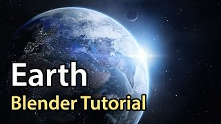 How to Make Earth in Blender (Cycles)