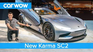 New 1,100hp Karma SC2 EV - see why it's way cooler than a Tesla Roadster!