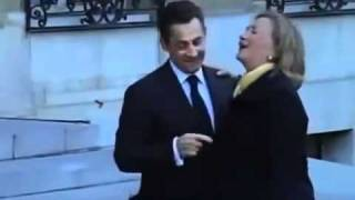فضيحة هيلارى كلينتون و رئيس فرنسا نيكولا ساركوزى