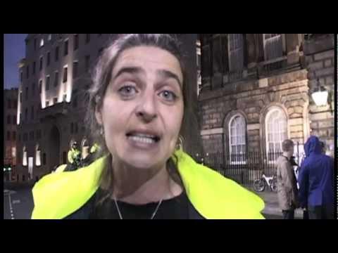 LIVERPOOL COUNCIL BUDGET CUTS PROTEST