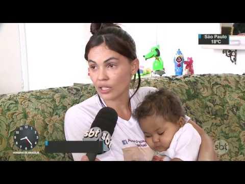 Carpinteiro faz greve de fome para tentar salvar a vida do filho - SBT Brasil (19/04/17)