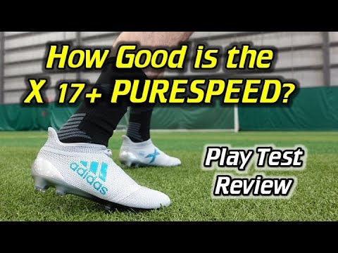 Adidas X 17+ PURESPEED Play Test + Free Kicks Review