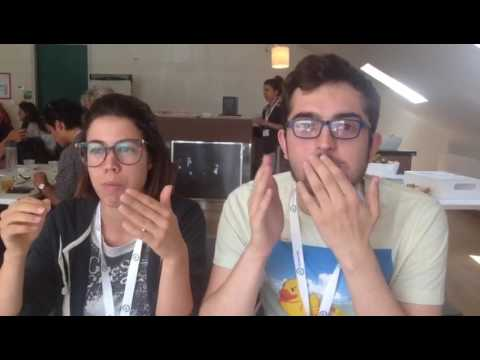 Francisco's Vlog about eating Insects Salad - Journey Day 3 Benelux - Nordics