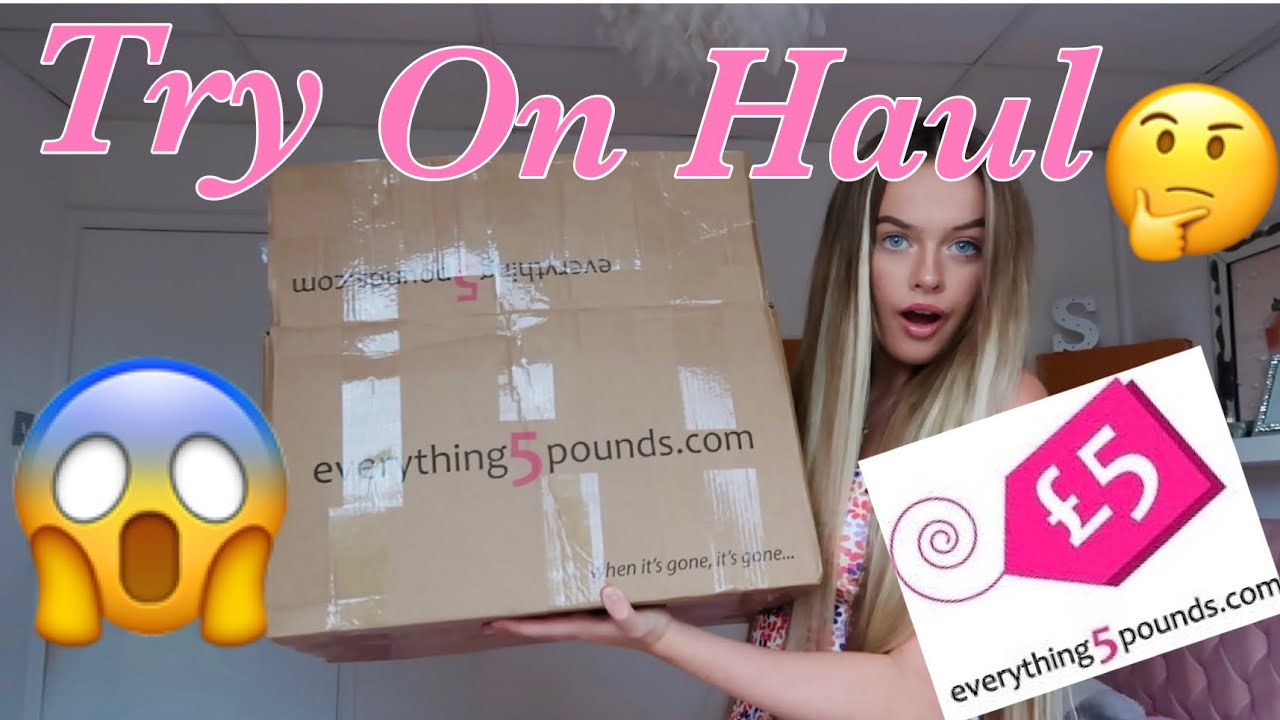 TESTING EVERYTHING 5 POUNDS?!🤭Huge Try On Haul