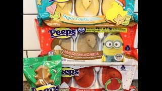 Peeps: Sugar Cookie, Hot Cocoa & Cream, Red Velvet & Milk Chocolate Mint Review