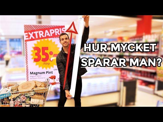 Köper ALLT på extrapris i en ICA-butik!