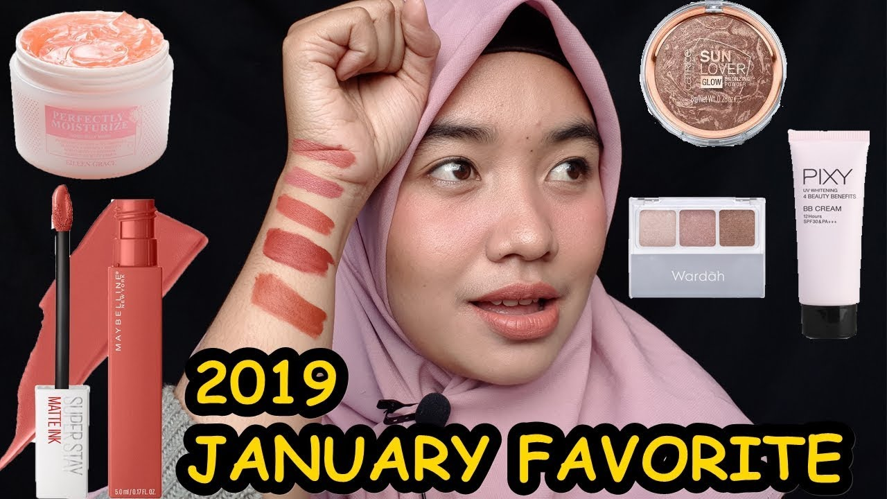 January Favorite 2019 Maybelline Superstay Matte Ink City Edition Indonesia