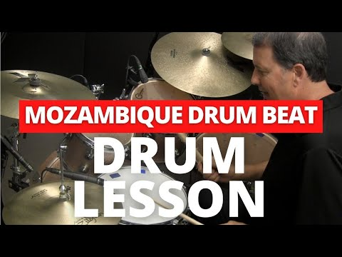 Mozambique Afro-Cuban Drum Groove - Online Drum Lesson with John X