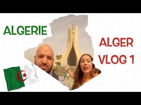 ALGERIE VLOG 1 à la découverte d'Alger!!!