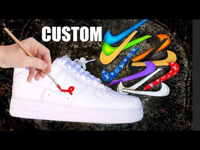 custom af1 swoosh