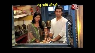 Rishi -Tanu 's Kitchen-Drama in 'Kasam'