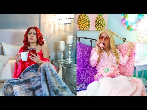 School Night Routine! *Rich Girl vs Normal Girl*