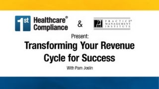 "By: pam joslin practice management institute statistics tell us that ""90% of denials are preventable and 67% recoverable."" the efficiency your revenue..."