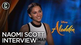 Aladdin: Naomi Scott Interview