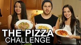 THE PIZZA CHALLENGE - Merrell Twins & Dominic DeAngelis