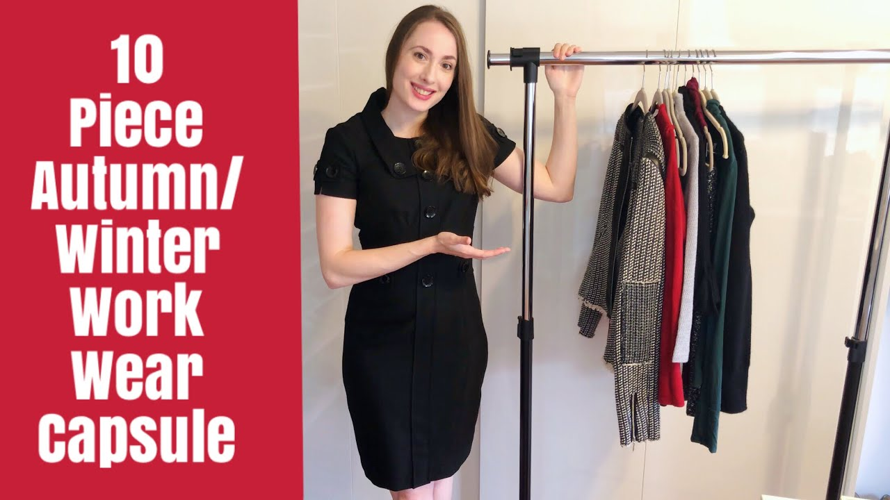 [VIDEO] – 10 Piece Autumn/Winter Workwear Capsule | Must Have Core Pieces | 15+ outfits