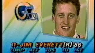Dallas Cowboys vs Los Angeles Rams 1986 1st Half SNF Week 14
