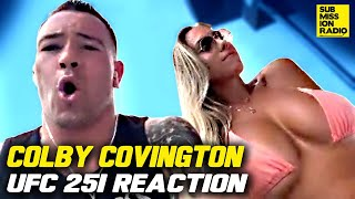 Colby Covington Reacts to UFC 251, ROASTS Kamaru Usman & Jorge Masvidal
